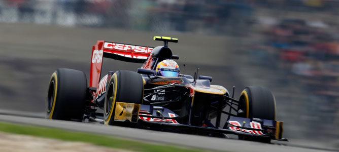 Un Toro Rosso en el GP de China