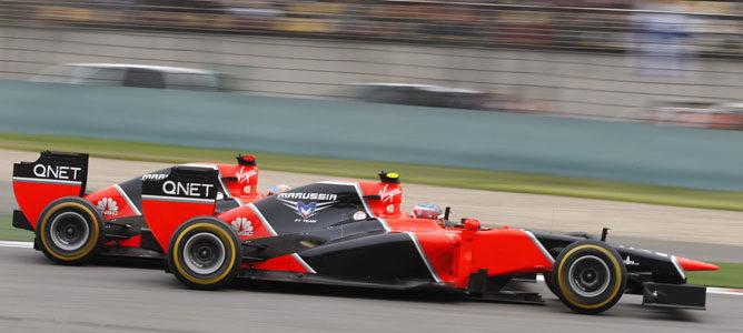 Los Marussia en el GP de China