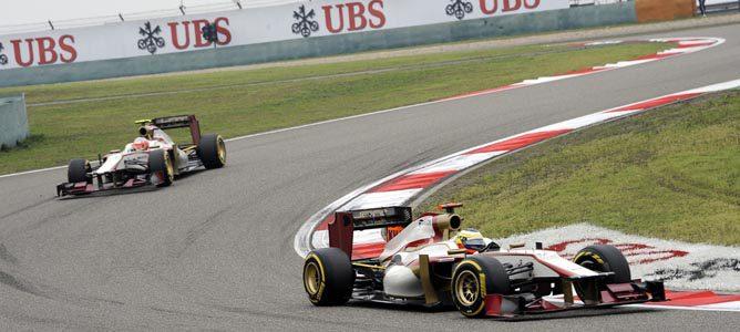 Los HRT en el GP de China