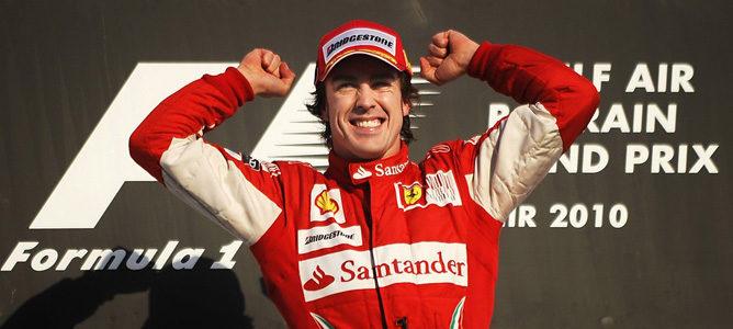 Fernando Alonso gana el GP de Baréin 2010 F1