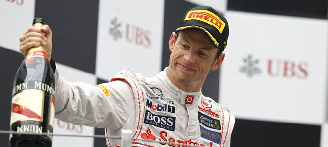 Jenson Button en el GP de China