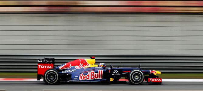 Sebastian Vettel en el GP de China