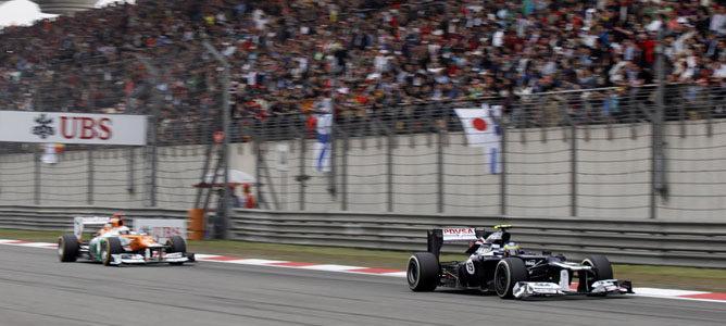 Bruno Senna en el GP de China