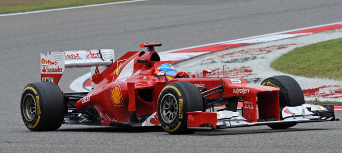 Fernando Alonso en el GP de China
