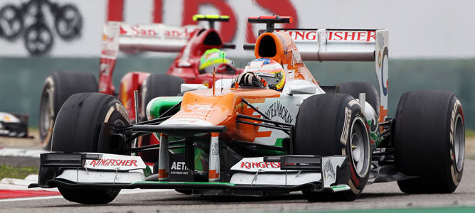 Paul di Resta en el GP de China