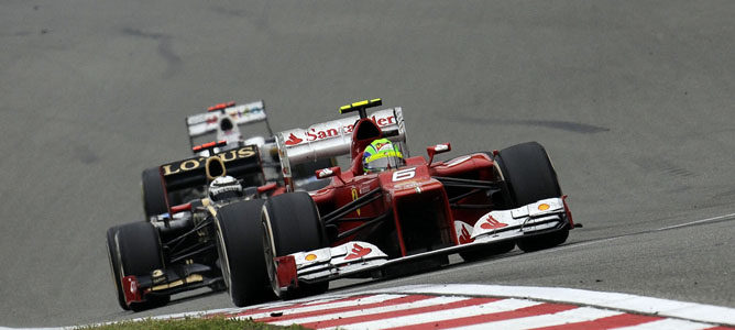 Felipe Massa en el GP de China