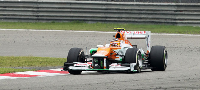 Nico Hulkenberg en el GP de China