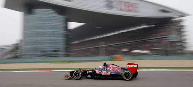 Jean-Eric Vergne en el GP de China