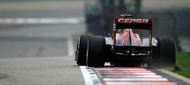 Daniel Ricciardo en el GP de China