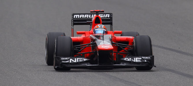 Timo Glock en el GP de China