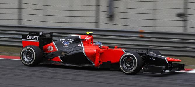 Charles Pic en el GP de China