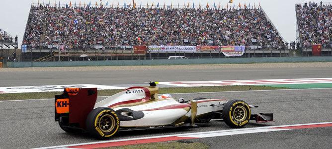 Narain Karthikeyan en el GP de China