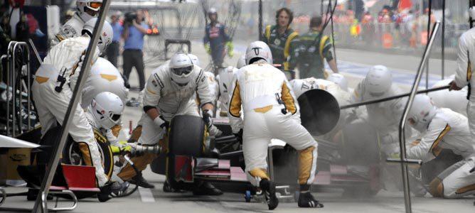 HRT espera seguir mejorando en los próximos Grandes Premios