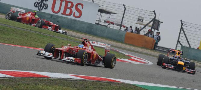 Ferrari no está rindiendo tan bien como se esperaba en 2012