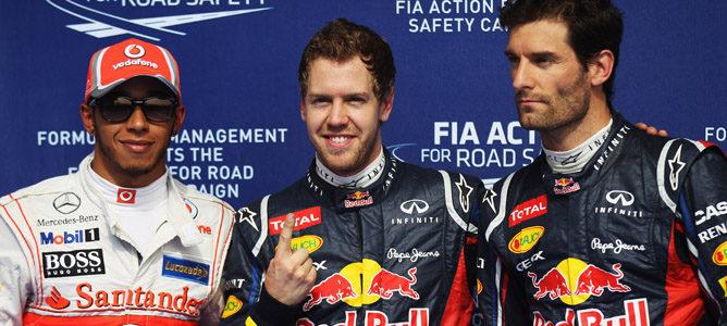 Pole de Sebastian Vettel en el GP de Baréin 2012
