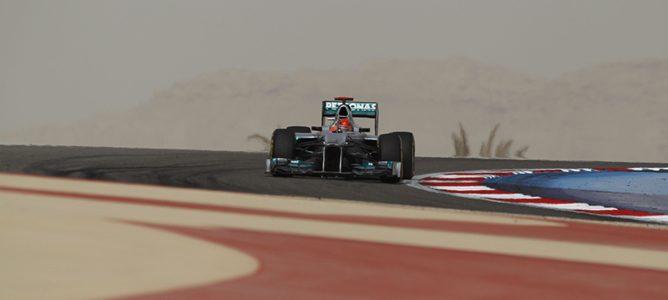 Michael Schumacher en Baréin