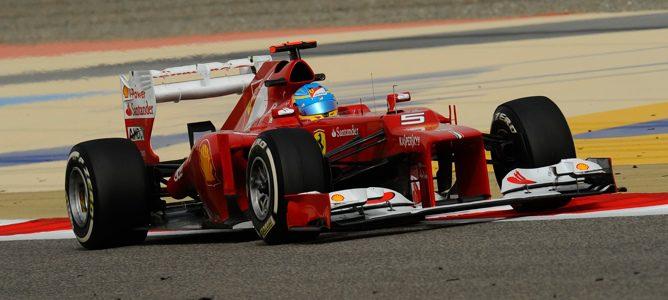 Fernando Alonso en Baréin