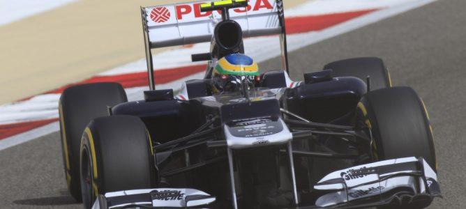 Senna en el GP de Baréin