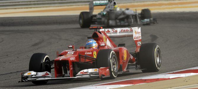 Fernando Alonso en el GP de Baréin