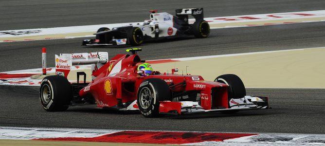 Felipe Massa en el GP de Baréin