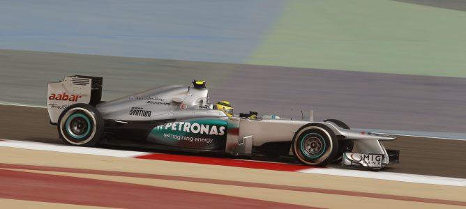 Nico Rosberg durante el GP de Baréin 2012
