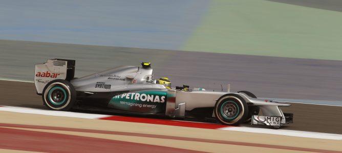 Rosberg en el GP de Baréin