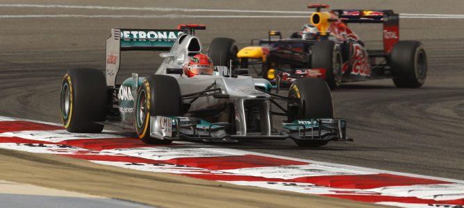 Schumacher en el GP de Baréin