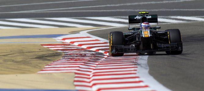 Vitaly Petrov en el GP de Baréin
