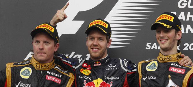 Sebastian Vettel volvió a lo más alto