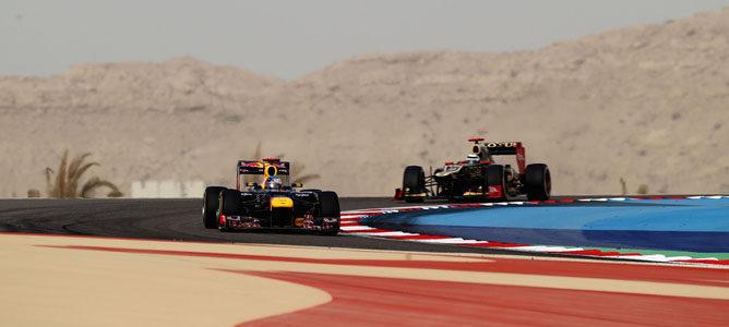 Carrera protagonizada por los equipos Renault
