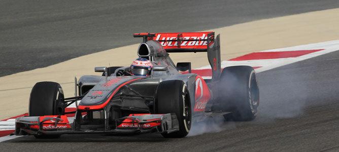 Jenson Button, el mejor adelantando