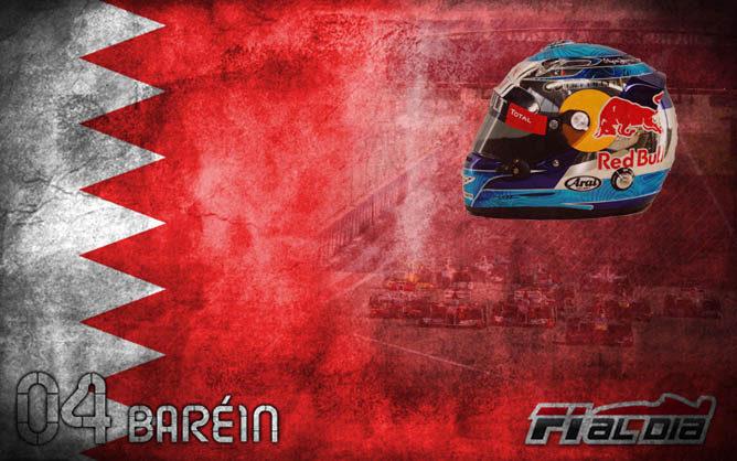 Cartel anunciador del GP de Baréin