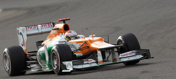 Paul di Resta en el circuito de Sakhir