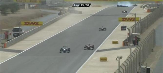 Rosberg y Alonso en el GP de Baréin