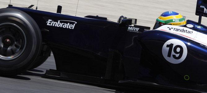 Bruno Senna en el GP de España 2012