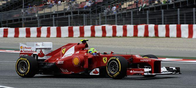 Felipe Massa en el GP de España