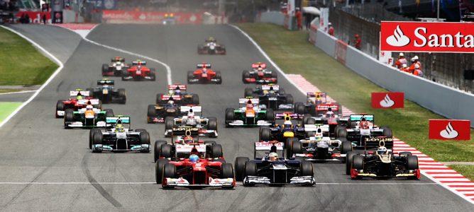 Pastor Maldonado se lleva la victoria, con Alonso segundo, en el Gran Premio de España 2012