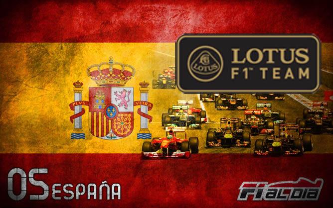 Cartel anunciador del GP de España de F1 2012