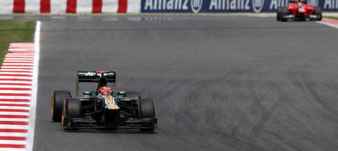 Heikki Kovalainen en el GP de España