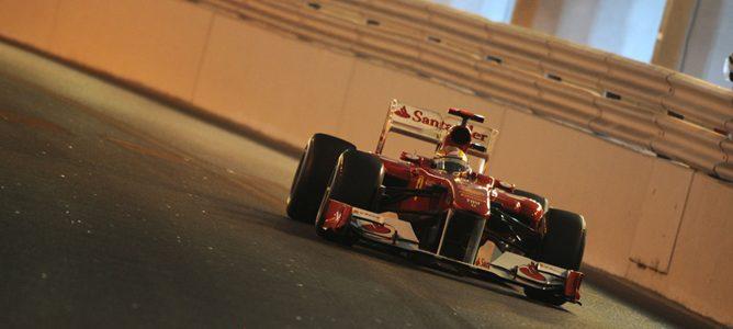 Fernando Alono en el GP de Mónaco 2010