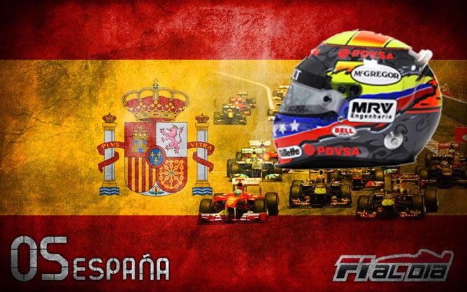 Cartel del GP de España de F1 2012