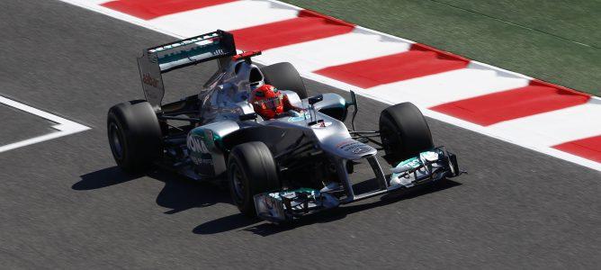 Michael Schumacher en Montmeló