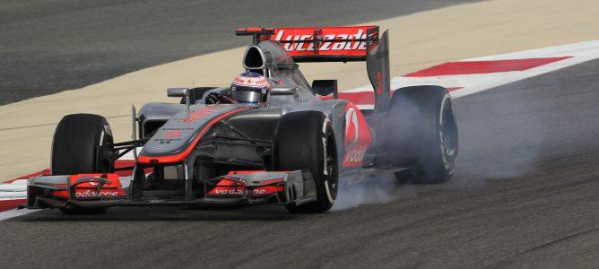 Jenson Button en Baréin