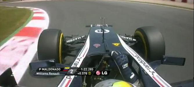 Maldonado marca el 2º mejor tiempo