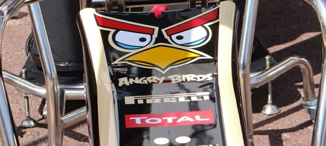 Angry Birds y Lotus juntos en Mónaco 2012