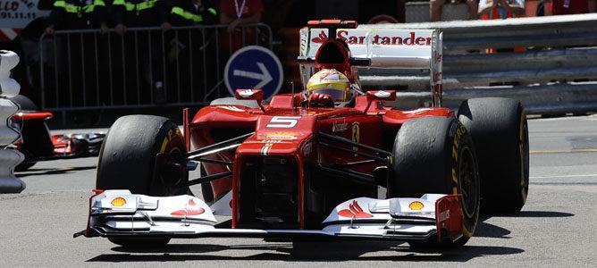Fernando Alonso lidera los primeros entrenamientos libres del GP de Mónaco 2012