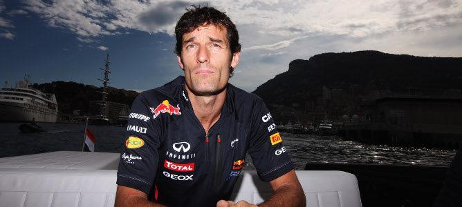 Mark Webber en Mónaco