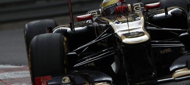 Romain Grosjean en Mónaco 2012