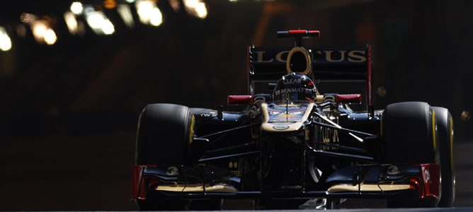 Kimi Räikkönen en Mónaco 2012