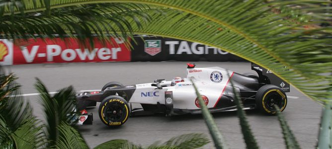 Kamui Kobayashi en Mónaco 2012